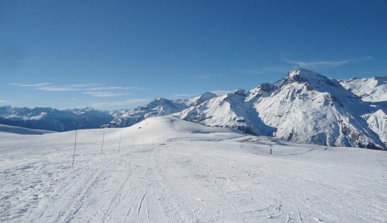 skiën in Lanslebourg
