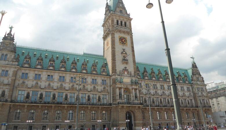 Rathaus Plein, Hamburg