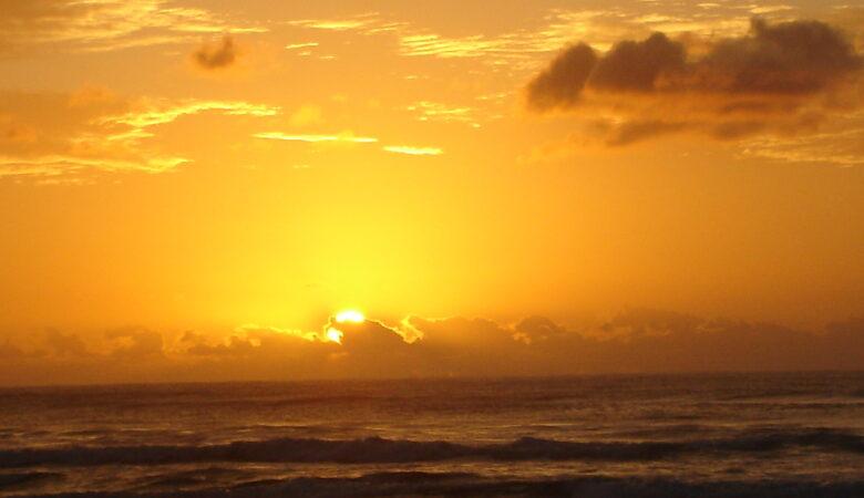 Zonsondergang Australië